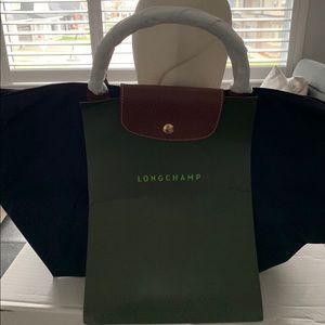 New Longchamp  Le Pliage Original Top Handle Bag
